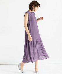 LASUD/[radiate the lifedress] シフォンプリーツワンピース/503189381