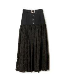 REDYAZEL/オリジナルフラワージャガードショートパンツレイヤードスカート/503248662