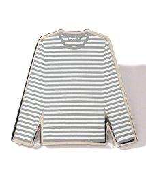 agnes b. FEMME/GX91 PIN ボーダーTシャツ モチーフピンバッジ/503326015