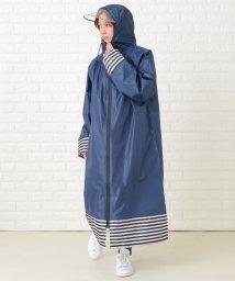 Lace Ladies/軽量クリアバイザー付きレインポンチョ/503355804