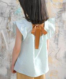 子供服Bee/背中リボン肩フリルトップス/503364834