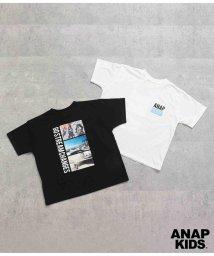 ANAP KIDS/バックフォトプリントビッグTシャツ/503370941