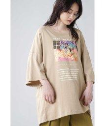 ROSE BUD/アートプリントTシャツ/503371296