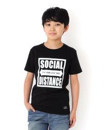 GLAZOS/天竺・スクエアボックスロゴ半袖Tシャツ/503371591