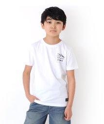 GLAZOS/天竺・HOMEプリント半袖Tシャツ/503371593
