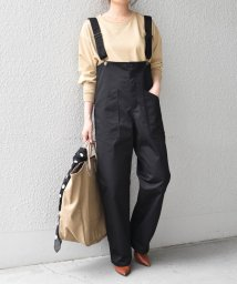 SHIPS any WOMENS/《追加予約》【SHIPS any別注】UNIVERSAL OVERALL: ソリッド オーバーオール サロペット/503371789