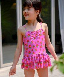 子供服Bee/いちご柄ワンピース水着/503372025