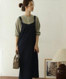 URBAN RESEARCH DOORS/【予約】Vネックジャンパースカート/503372408