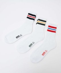 ABAHOUSE/【DISCUS】201001 201002 SOCKS PACK 3P 3枚セッ/503372878