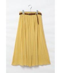 ikka/楊柳ベルト付きスカート/503136056