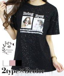 Primeira classe/ラメ入りBIGTシャツ/503344249