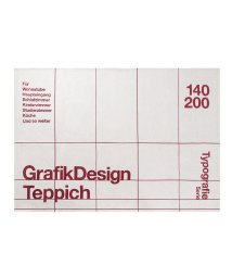 BRID/TYPOGRAPHY RUG GRID pattern 140×200/503357198