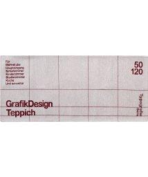 BRID/TYPOGRAPHY KITCHEN MAT GRID pattern 50×120/503357199