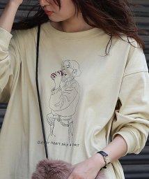 coen/TOMOTERU NISHIMURA HOMME(トモテル ニシムラ オム)×coenプリントロングスリーブTシャツ(プリントT/ロンT)/503374169
