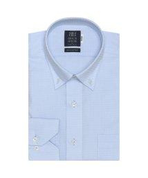 BRICKHOUSE/標準体 長袖 ワイシャツ 形態安定 ドゥエボットーニボタンダウン サックス/503374223
