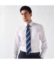 BRICKHOUSE/ワイシャツ 長袖 形態安定 マイタードゥエボットーニボタンダウン 白×小紋 標準体/503374238