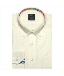 BRICKHOUSE/ディズニー ワイシャツ 長袖 形態安定 ボタンダウン クリームイエロー 標準体/503374248