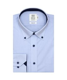 BRICKHOUSE/ワイシャツ 長袖 形態安定 ドゥエボットーニボタンダウン サックス スリム/503374251