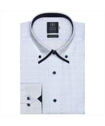 BRICKHOUSE/ワイシャツ 長袖 形態安定 マイタードゥエボットーニボタンダウン サックス 標準体/503374260