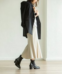 NOBLE/《予約》MINAニットマーメイドスカート◆/503374319