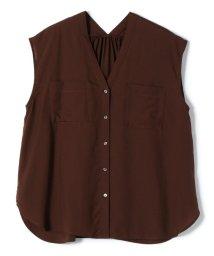 SHIPS WOMEN/ポケットVネックショートスリーブシャツ/503374560