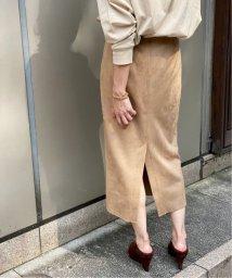 Spick & Span/≪予約≫フェイクスエードストレッチタイトスカート◆/503374709