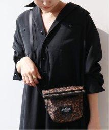 journal standard  L'essage /《予約》【BAGS IN PROGRESS】FOLDED BELT BAG LEOPARD:バッグ◆/503374883