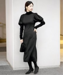 VERMEIL par iena/レーヨンポプリンパフスリーブワンピース◆/503375047