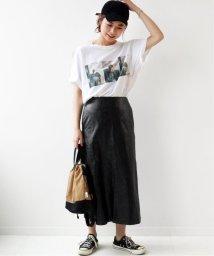 JOURNAL STANDARD relume/《予約》ヴィーガンレザーAラインスカート◆/503375051