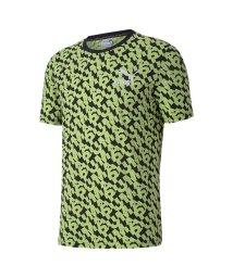PUMA/CLASSICS グラフィック AOP ロゴ 半袖 Tシャツ/503375458