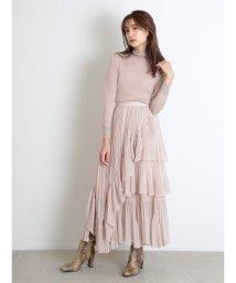 SNIDEL/シアーボリュームプリーツスカート/503375588