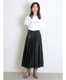 SNIDEL/レザープリーツスカート/503375589