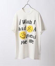JOURNAL STANDARD/【MAISON EMERALD/メゾン・エメラルド】 oam Smile Face Print Shor/503375790