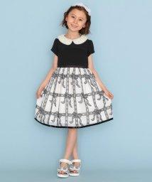 KUMIKYOKU KIDS/【150-160cm】リボンレースドレス ワンピース/503376186