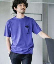 nano・universe/《WEB限定》Anti Soaked ヘビークルーネックBIG Tシャツ/503137584