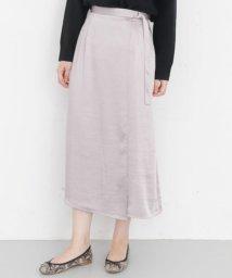 URBAN RESEARCH OUTLET/【KBF+】ラップサテンスカート/503363042