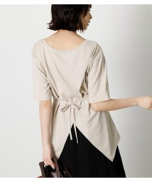 AZUL by moussy/BACK SLIT 2WAY PEPLUM TOP/503376327