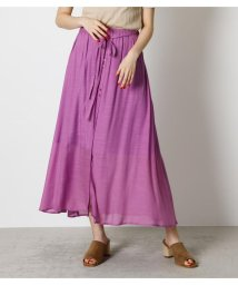 AZUL by moussy/SHEER RELAX SKIRT/503376335