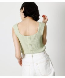 AZUL by moussy/BACK SQUARE 2WAY KNIT/503376337