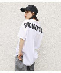 RODEO CROWNS WIDE BOWL/バッグロゴストライプビッグシャツ/503376349