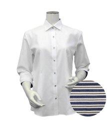 BRICKHOUSE/シャツ 七分袖 形態安定 ワイド衿 透け防止 レディース ウィメンズ/503376667