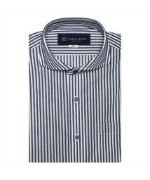 BRICKHOUSE/ワイシャツ半袖形態安定ビズポロ ニットシャツ ホリゾンタル メンズ/503376681