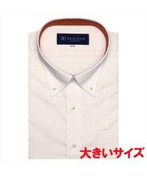 BRICKHOUSE/ワイシャツ 半袖 形態安定 ボタンダウン  3L・4L メンズ/503376692