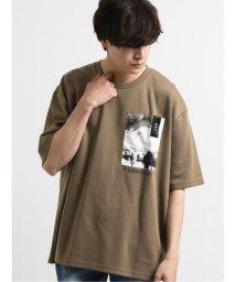semanticdesign/ポンチ ポケットグラフィック半袖BIGTシャツ/503138536