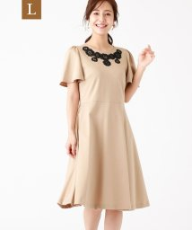 TO BE CHIC(L SIZE)/【L】スーピマコットンポンチワンピース/503354225