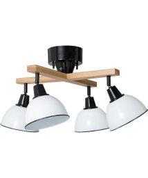 BRID/GENDER WOOD ROD 4BULB CELING LAMP CROSS (電球あり)/503357308