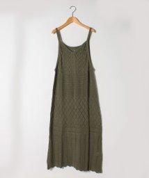 A HAPPY MARILYN /さらりと心地よい 涼やか 透かし編み 美人 ロング ワンピース/503359243