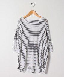 A HAPPY MARILYN /ハッピーモイスチャー 夏の至福の カットソー ギャザー袖 Tシャツ/503359245