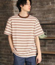 ALWAYS GOOD TIME NEW BASIC STORE/SPORTSWEAR(スポーツウエア)ボーダー半袖Tシャツ/503363190