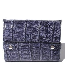 gino marina luxe/クロコダイル本革多機能財布/503363338